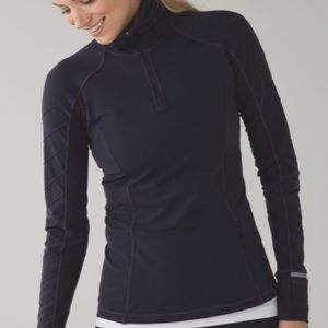 Lululemon Face The Frost 1/2 zip